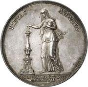 Medal - Frederik VI (Reformation Anniversary) – reverse
