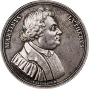 Medal - Reformation Anniversary – obverse