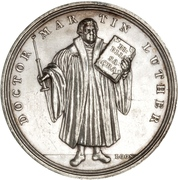 Medal for the Reformation Anniversary (Type 5) – obverse