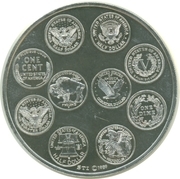 Medal - US Coins of the 20th Century – reverse