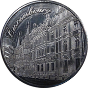 Luxembourg Heritage Collectors Coin - Grand Ducal Palace – obverse