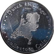 Dutch Heritage Collectors Coin - Afsluitdijk – reverse