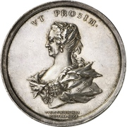 Medal - Christian VI (Queen's birthday) – reverse