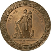 Medal - State Minister Ove Malling (Bronze) – reverse