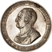 Medal - State Minister Ove Malling (Silver) – obverse