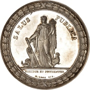 Medal - State Minister Ove Malling (Silver) – reverse