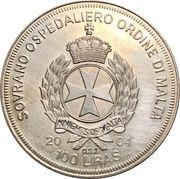 100 Liras (Great Britain in the EU) – reverse