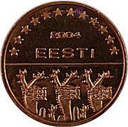 2 Euro Cent (Estonia Euro Fantasy Token) – obverse