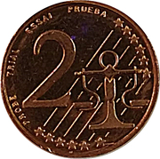 2 Euro Cent (Estonia Euro Fantasy Token) – reverse
