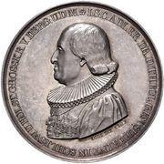 Medal - Golden jubilee of Professor J. G. C. Adler (Silver) – obverse