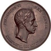 Medal - Frederik VI (Abolishing serfdom) – obverse