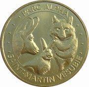 Monnaie de Paris - Parc Alpha Saint Martin Vésubie – obverse