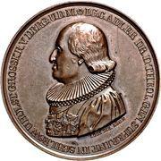 Medal - Golden jubilee of Professor J. G. C. Adler (Bronze) – obverse