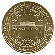 Monnaie de Paris - Disneyland Resort Paris (2010) – reverse
