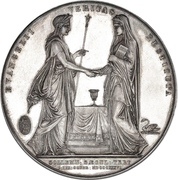 Medal - Reformation in Denmark anniversary – reverse