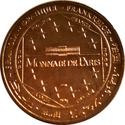 Monnaie de Paris Tourist Token - Sacré Cœur de Montmartre (La Grande Mosaique du Cœur) – reverse