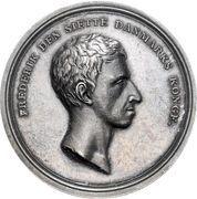 Medal - Frederik VI (Diligence award) – obverse