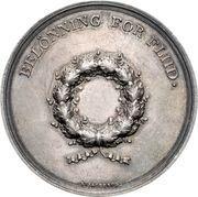 Medal - Frederik VI (Diligence award) – reverse