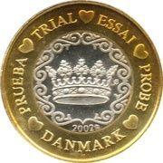 1 Euro (Denmark Euro Fantasy Token) – obverse