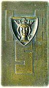 Prize plaquette - IFS – obverse