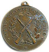 Shooting Medal - Heby Skytteförening – obverse