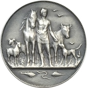 Medalet - Assosiation of animal protection (Oslo) – obverse