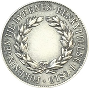 Medalet - Assosiation of animal protection (Oslo) – reverse