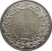 1 oz Silver (Silber Unze - Helvetia) – obverse