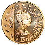 5 Euro (Denmark Euro Fantasy Token) – obverse