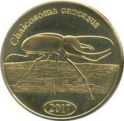 500 Rupiah (Chalcosoma caucasus) – reverse