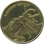 500 Rupiah (Lucanus cervus) – reverse