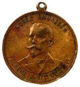 Medal - Roald Amundsen Polheim – obverse
