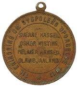 Medal - Roald Amundsen Polheim – reverse