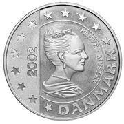50 Cent (Denmark Euro Fantasy Token) – obverse