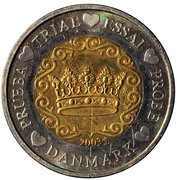 2 Euro (Denmark Euro Fantasy Token) – obverse