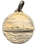 Medal - Transatlantico SS Rex -  reverse