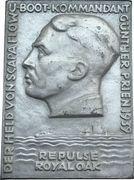 Plaquette - Naval successes of U-boat commander Günther Prien – obverse