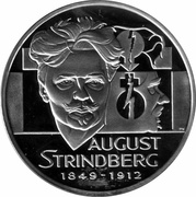 20 ECU (August Strindberg) – obverse