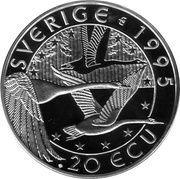 20 ECU (August Strindberg) – reverse