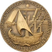 Medal - Opening of the maritime museum – obverse