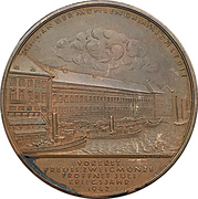 Medal - Establishment of the minting room at the Prussian state mint – obverse