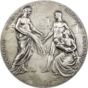 Medal - Gratitude towards the United States of America – reverse