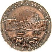 "Medal - Founding of ""La Plata"" – obverse"