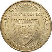 Monnaie de Paris - Stade Rochelais – obverse