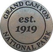Token - Grand Canyon National Park (Colorado river) – reverse