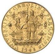 5 Dukátů (Charles IV) – reverse
