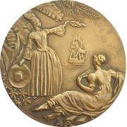 """Medal - Compagnie Generale Transatlantique """"Antilles"""" – reverse"""