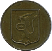 Medal - Chekalin (Likhvin antique) – reverse