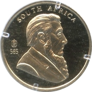 Token - 40th Anniversary of Krugerrand – obverse