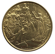 Medal - Napoleon I (The coronation of the Emperor) -  reverse